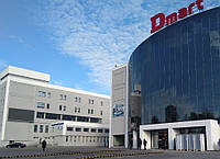 Видеореклама на фасаде бизнес-центра в Каменском, пр.Свободы, 35 (рядом с ТРЦ DMart)