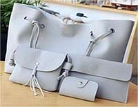 Набор женских сумок LADY BAG 2B Серый