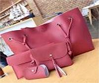 Набор женских сумок LADY BAG 2B Красный