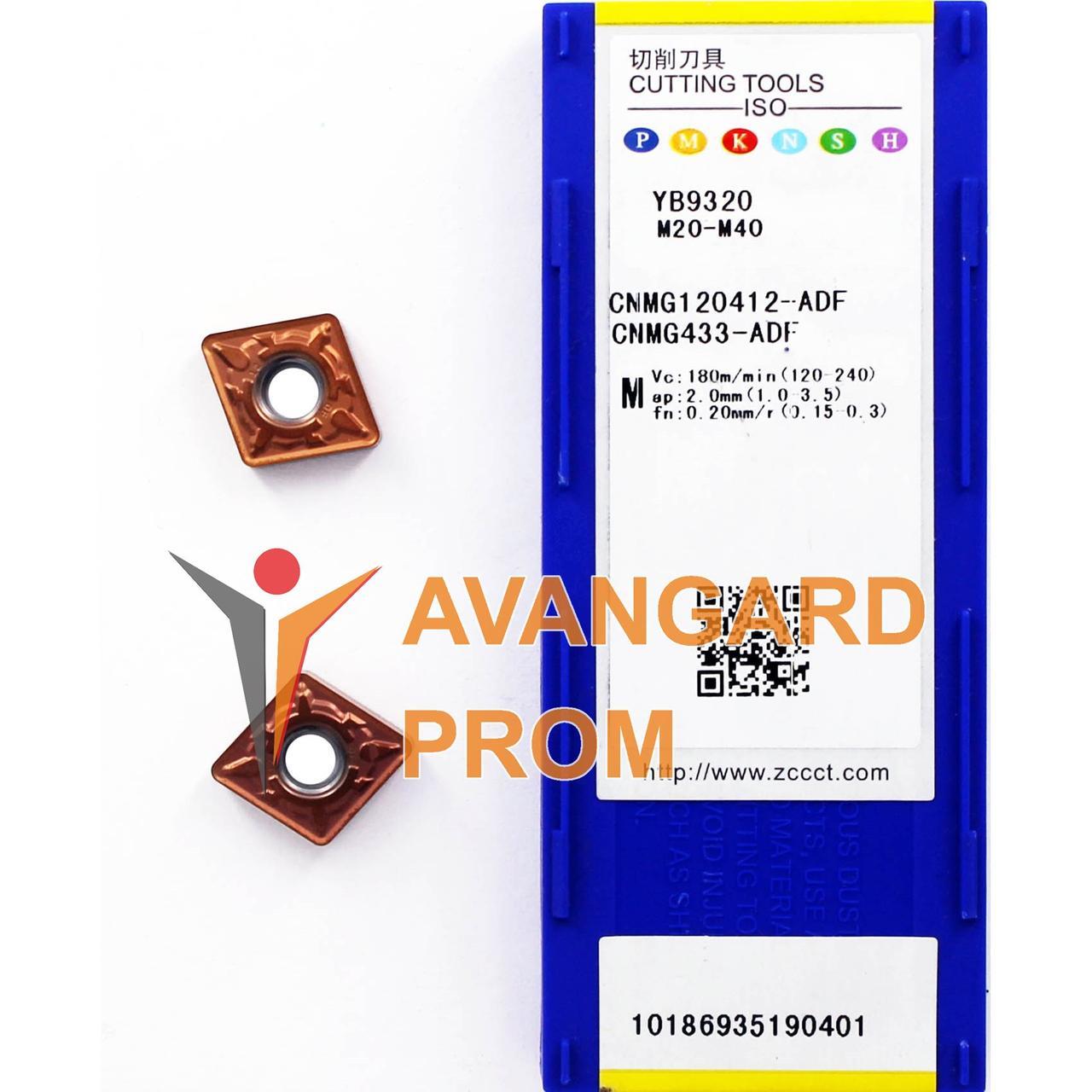 Пластина ZCC-CT CNMG 120412-ADF YB9320