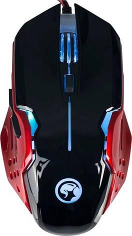 Оптическая игровая мышь Б/У Marvo Scorpion M416 (6 кнопок, 2400 dpi, подсветка), фото 2
