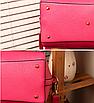 Женская сумка большая с ручками Glory Розовый, фото 4