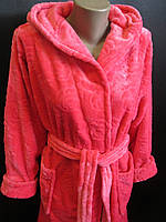 Махровые халаты с тесненным узором