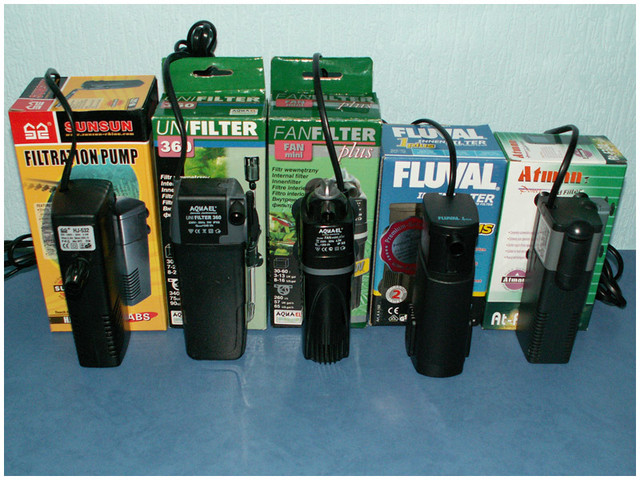 Фільтри для акваріума