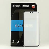 Защитное стекло Mocolo 5D Full Glue для Xiaomi Redmi Note 8 Pro полноэкранное черное