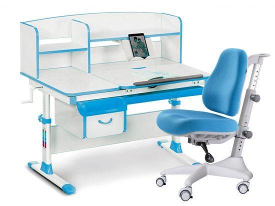 Комплект парта и кресло Evo-kids Evo-50 New