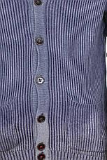 Мужской вязаный кардиган Sprayed Full Cardigan от Mustang jeans в размере M, фото 2
