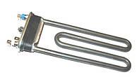1500Вт: TW 182/1,5 — ТЭН 182мм, для СМА с металлическим баком, прямой, без отверстия под термодатчик (Италия)