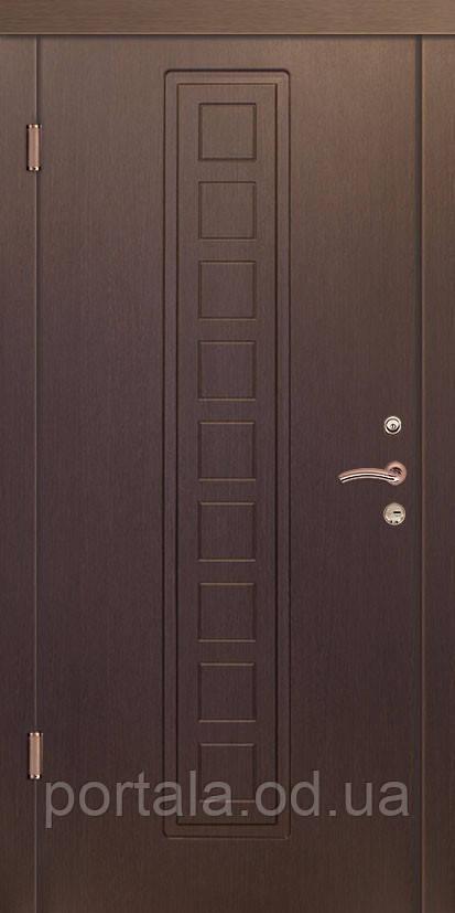 """Входная дверь для улицы """"Портала"""" (Люкс Vinorit) ― модель Марсель"""