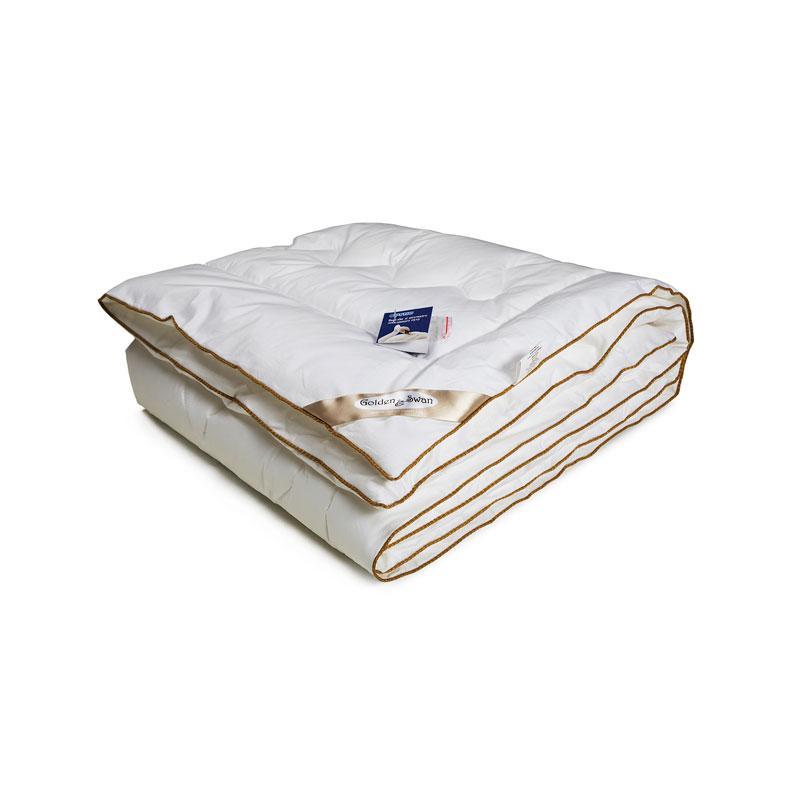 Детское одеяло лебяжий пух Руно Golden Swan зимнее 105х140 в кроватку