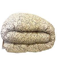 Одеяло Главтекстиль шерстяное размер евро 195*210 беж