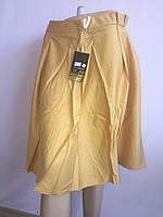 Женская юбка горчичная