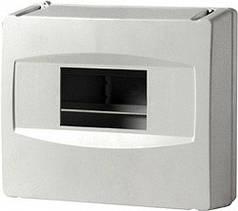 Корпус пластиковый 8-модульный, без дверки, (Инекст), Турция