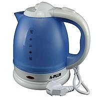 Электрочайник A-PLUS 1.8 л  голубой