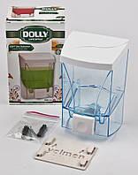 Дозатор для жидкого мыла Dolly 500 мл. прозрачный