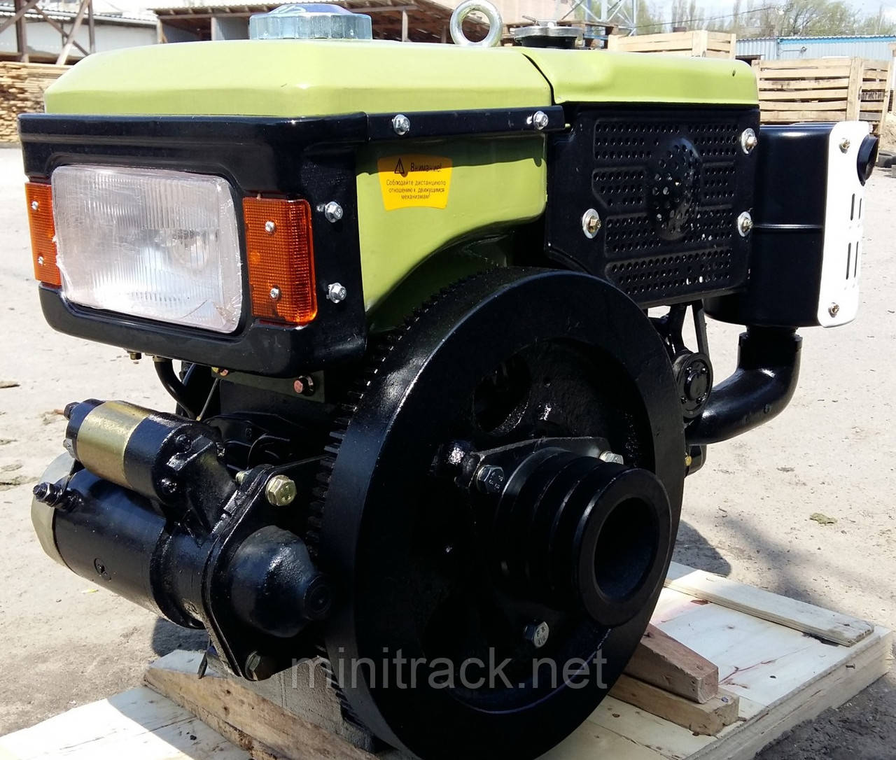 Двигатель для мотоблока ДД-190ВЭ, 10 л.с.