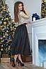Красивое женское платье верх из пайетки и пышная юбка из евро сетки  42, 44, фото 2