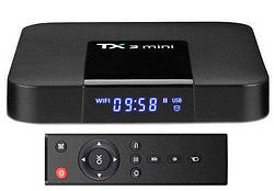 Медиаплеер Android Smart TV Box Amlogic S905W 2GB(RAM) 16GB(ROM) Tanix TX3 Mini A
