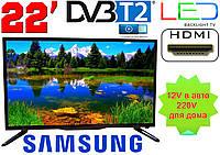 """LED телевизор 22"""" Samsung FullHD,DVB T2, USB, Super Slim, фото 1"""