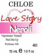 Парфюмерное масло (483) версия аромата Клоэ Love Story - 15 мл композит в роллоне