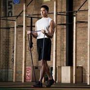 Петля эспандер лента для тренировок подтягиваний фитнеса ширина 1.9 см нагрузка 15-30 кг Gemini, фото 4