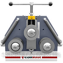 Профилегиб Cormak ERBM50 (Трёхроликовый гибочные станок) \ Профилегибочный станок Кормак ЕБМ50, фото 3