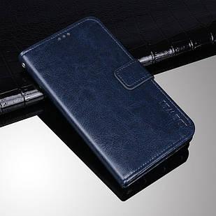 Чехол книжка Idewei для Xiaomi Mi A2 Lite / Redmi 6 Pro Темно-синий