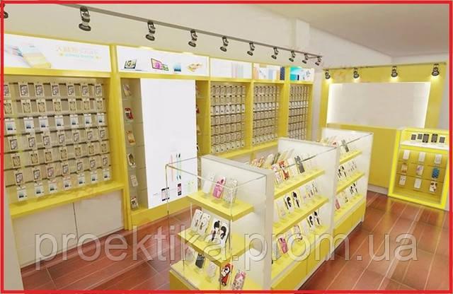 Дизайн магазина мобильных телефонов