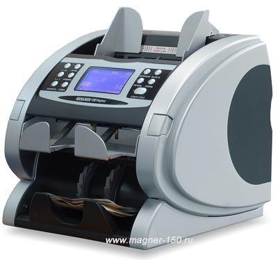 Счетчик (сортировщик) банкнот с детектором Magner 150 Digital
