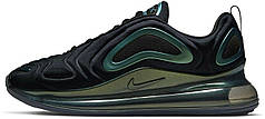 Женские кроссовки Nike Air Max 720 Black Green AO2924-010