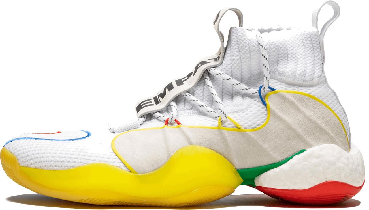 Женские кроссовки Adidas Crazy BYW LVL X Pharrell Alternate White EF3500