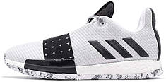 Мужские кроссовки Adidas Harden Vol. 3 White/Black/Pure Grey G54765