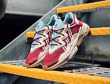 Женские кроссовки size? x Adidas Ozweego 'Lake Oswego' EG4570, фото 2