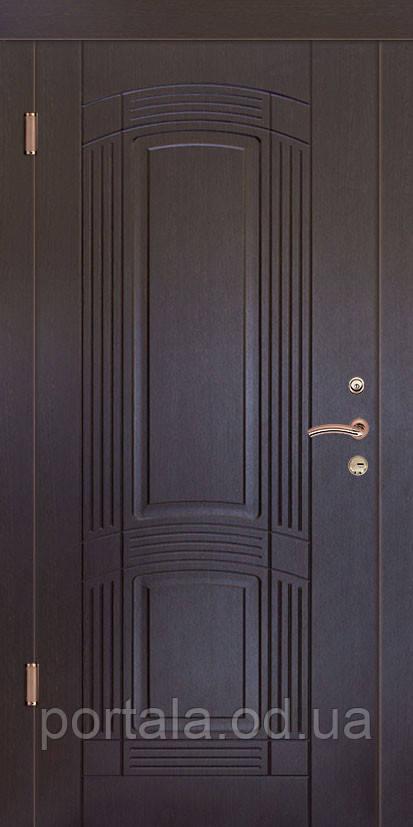 """Вхідні двері для вулиці """"Портала"""" (Люкс Vinorit) ― модель Пасаж"""