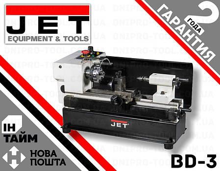 Токарный станок JET BD-3, фото 2