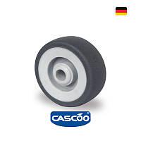 Колесо аппаратное с подшипником скольжения 75 мм, 75 кг (Германия)