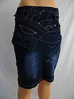 Юбки джинсовые оптом