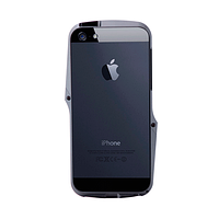 ЧЕХОЛ-БАМПЕР CASE LOGIC IP5MEBP-GRY, AG++ METAL BUMPER, APPLE, IPHONE 5/5S, ЧЕРНЫЙ