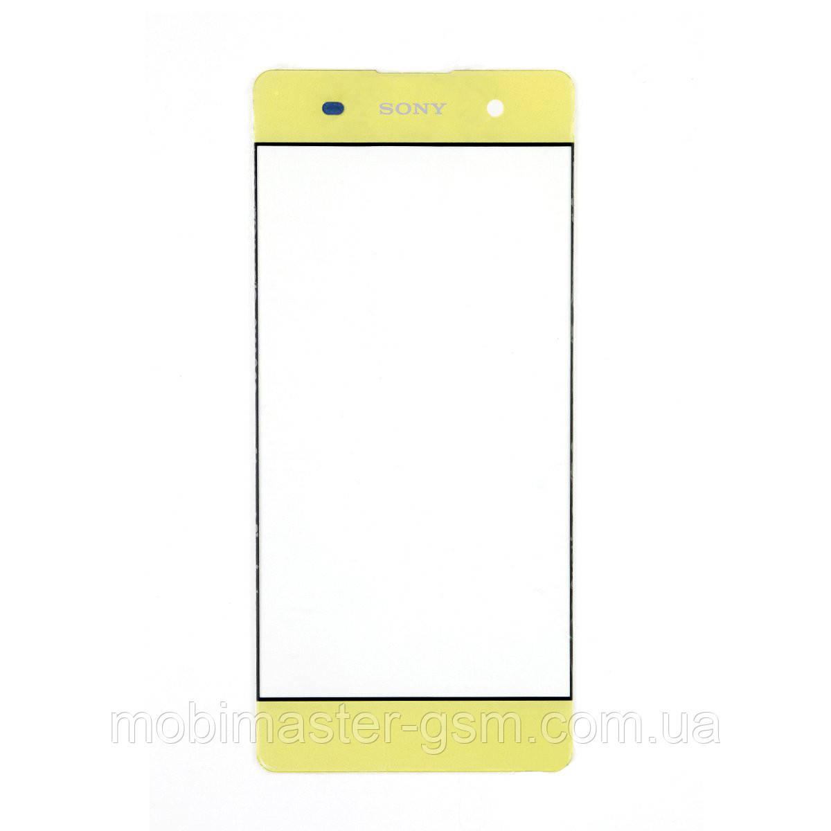 Корпусное стекло Sony Xperia XA F3112 lime gold