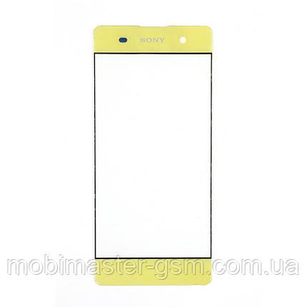 Корпусное стекло Sony Xperia XA F3112 lime gold, фото 2