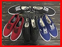 Новые стильные кеды Vans (Ванс, Вансы) Authentic. Разные цвета!  Унисекс