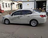 Ветровики, дефлекторы окон Peugeot 301 2012- /Citroën C-Elysée 2012-  (Anv), фото 2