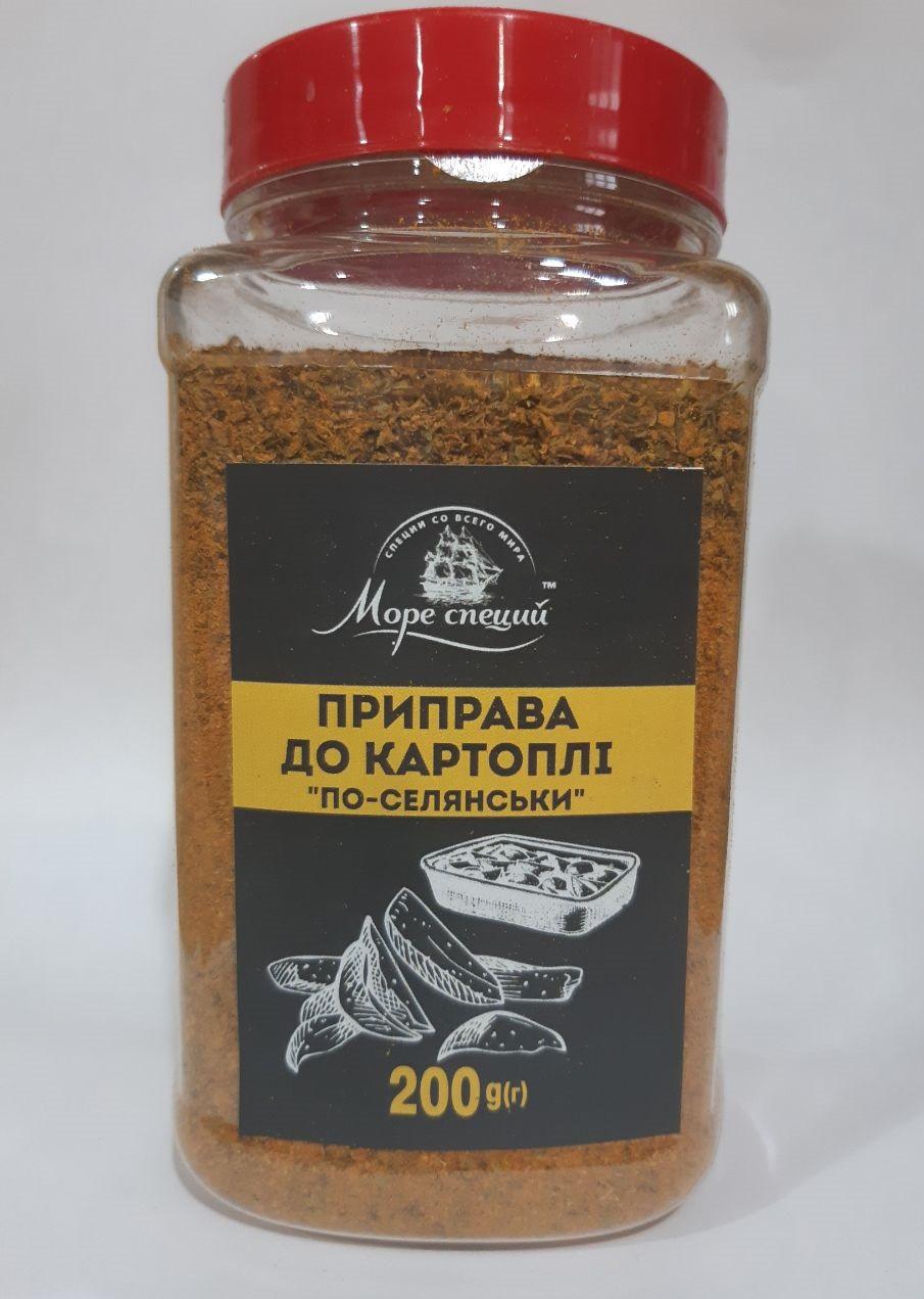 """Приправа """"К картошке по-деревенски"""" 200 г., баночка п/э"""