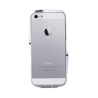 ЧЕХОЛ-БАМПЕР CASE LOGIC IP5MEBP-SLV, AG++ METAL BUMPER, APPLE, IPHONE 5/5S, СЕРЫЙ