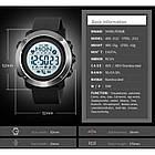 Мужские часы SMART Skmei 1511 Music Controll black, фото 4