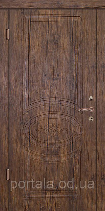 """Входная дверь для улицы """"Портала"""" (Люкс Vinorit) ― модель Кантри"""