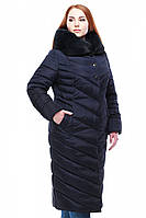 Пальто Мария 2 - Т.синий №91