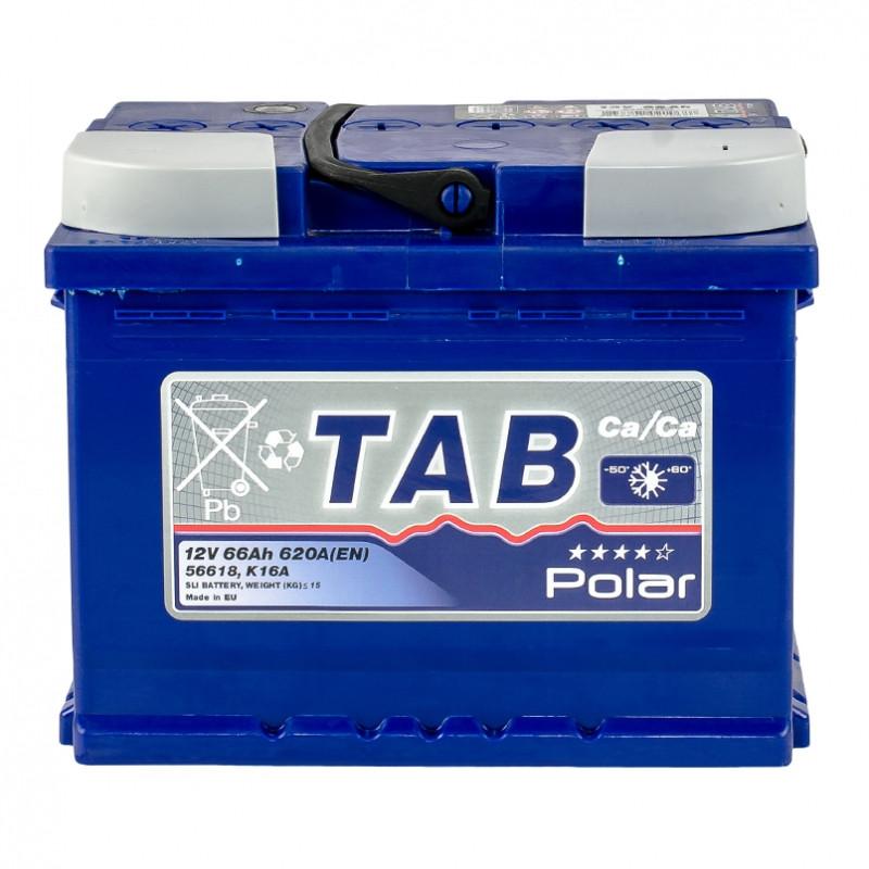 Аккумулятор TAB POLAR BLUE 66 AH/12V EURO (0)