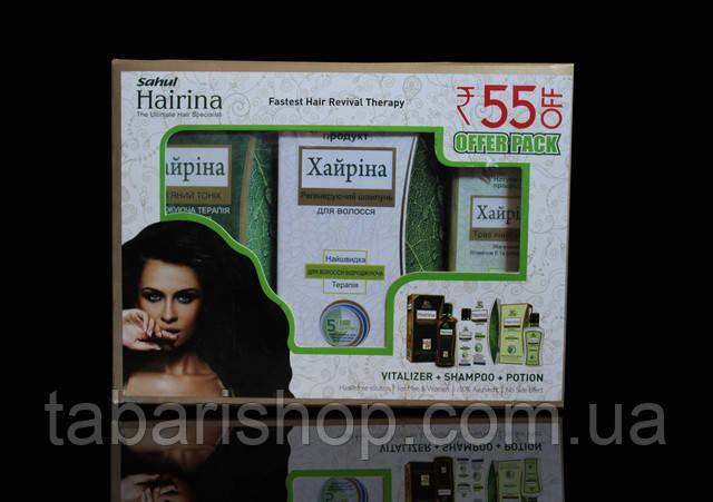 Новинка от выпадения волос из Индии - фитокомплекс Хайрина!