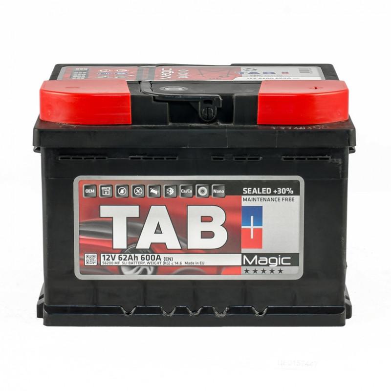 Аккумулятор TAB MAGIC 62 AH/12V EURO (0)